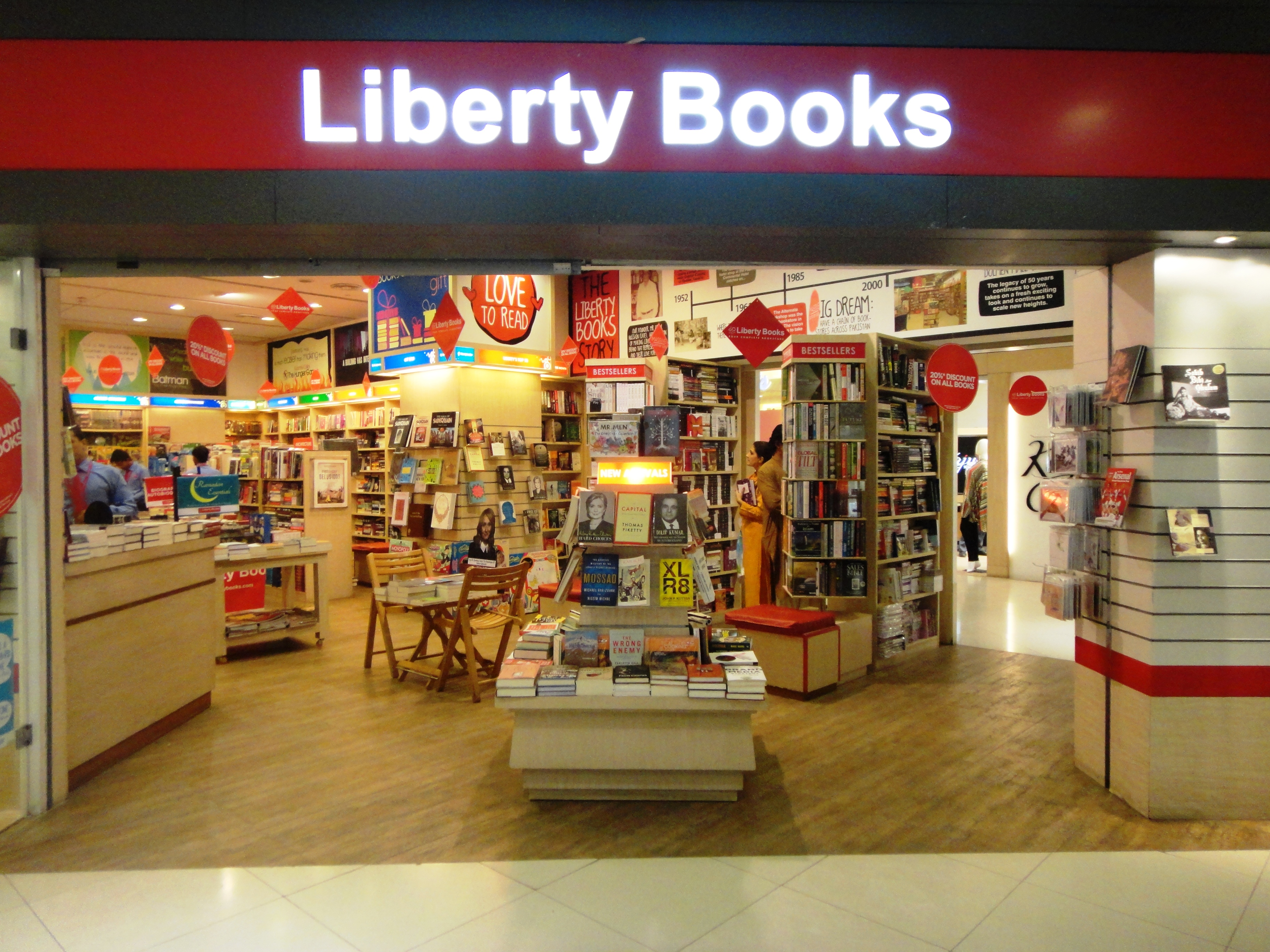 Liberty book store